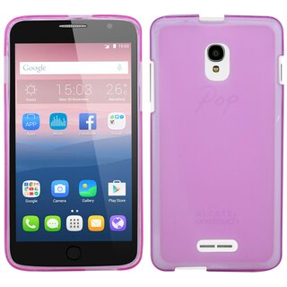 Alcatel Pop Star Handy Silikon Schutzhülle Cover Case