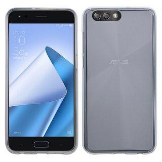 Asus ZenFone 4 ZE554KL Handy Silikon Schutzhulle Cover Case Transparent