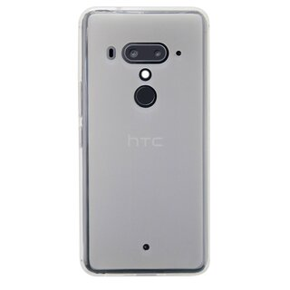 cofi1453® Silikon Hülle Basic kompatibel mit HTC U12+ (Plus) Case TPU Soft Handy Cover Schutz Frosted