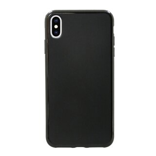iPhone XS Max Silikon Hülle Cover Case Bumper Schwarz
